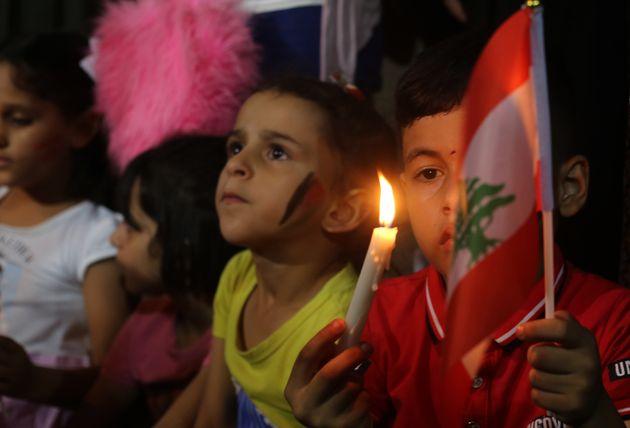 Γάζα - Παιδιά μεκεριά σε...