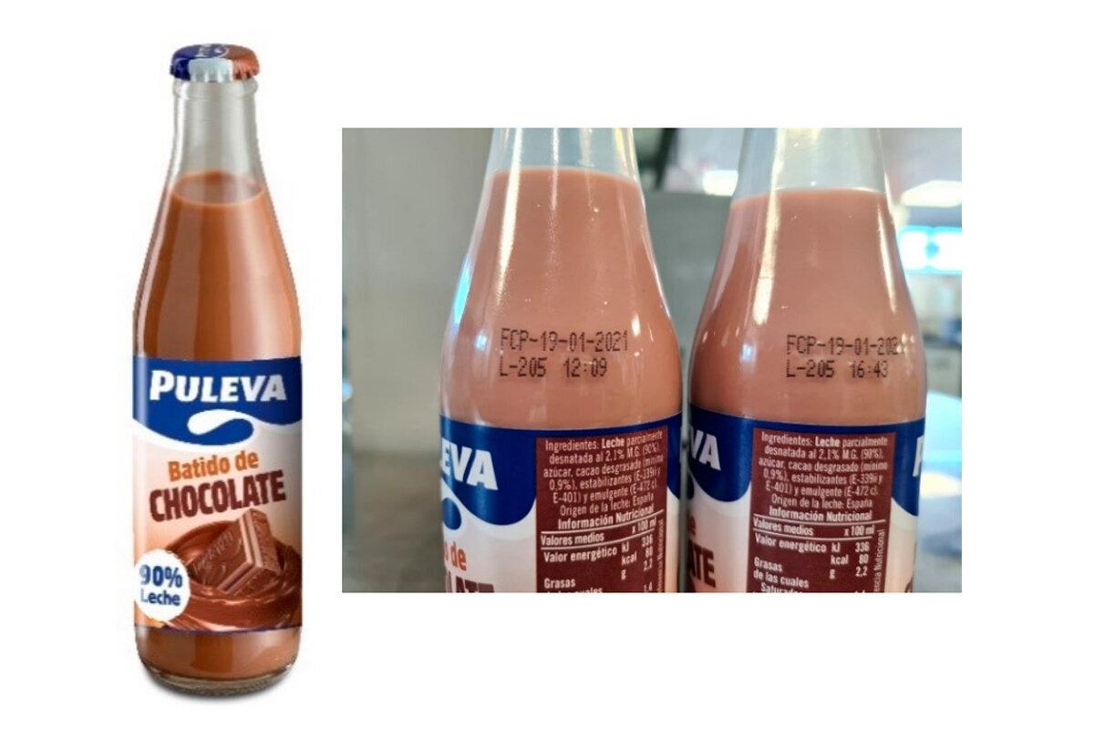 Sanidad retira del mercado un lote de batido de chocolate de Puleva