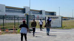 Amazon annonce une prime de 500 à 1000 euros pour les employés français restés en première
