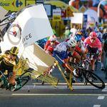 Σε κώμα ο Δανός ποδηλάτης Φάμπιο Τζάκομπσεν, μετά από φρικτή σύγκρουση στον Γύρο της