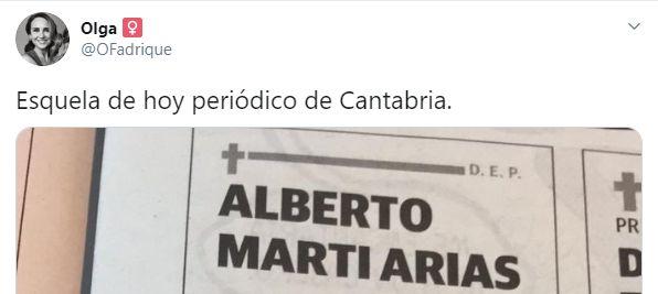 La esquela de 'El Diario de