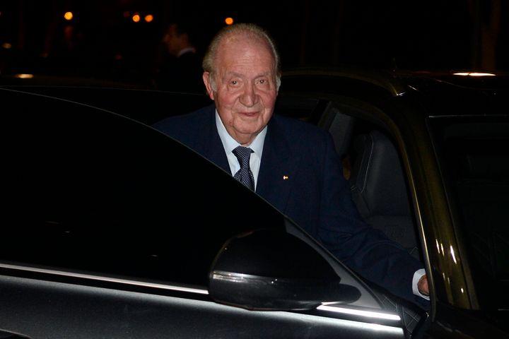Juan Carlos I en febrero de 2020 en Madrid.