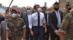 Μακρόν: «Ο Λίβανος δεν είναι μόνος» -