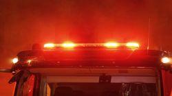 Un incendie de produits chimiques force le confinement à