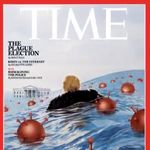 Time Dumps Trump Into A Sea Of Surging Coronavirus For New Magazine
