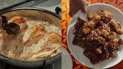 당장 '배달의 민족'을 켜게 만들 닭 요리 등장 영화