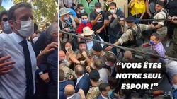À Beyrouth, Macron appelé au secours par la foule pour évincer les dirigeants