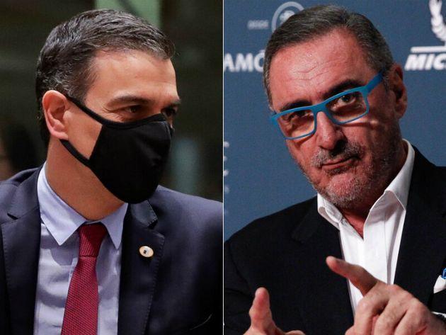 Pedro Sánchez y Carlos