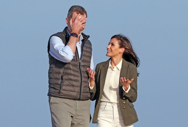 Felipe y Letizia, en un gesto que...