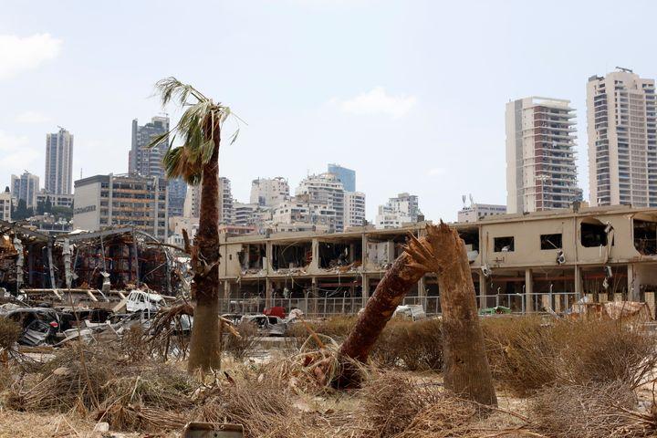 Dommages causés au port de Beyrouth