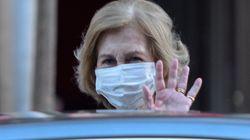 El significativo gesto de la reina Sofía en su primera aparición tras el anuncio del rey Juan Carlos