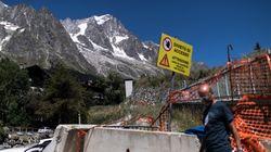 Un glacier du Mont-Blanc menace de s'effondrer à cause du réchauffement
