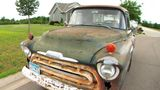 A Minnesota man sold the 1957 Chevy pickup he drove for 44 years for $75, the same price he paid decades ago.
