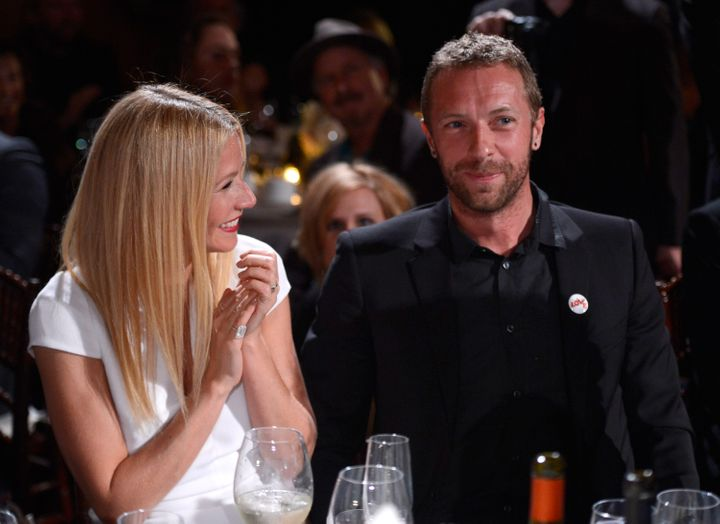 """Gwyneth Paltrow described a """"strange combination of mockery and anger"""" from the public after she and husband Chris Martin ann"""
