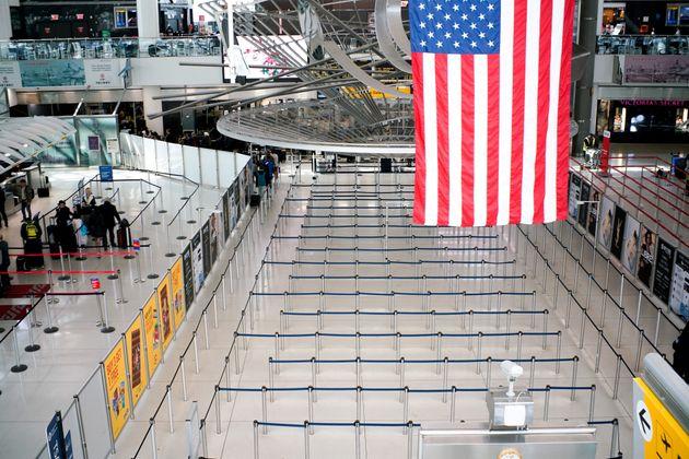 자료사진 뉴욕 JFK 공항. 3월