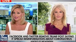Fox Host Puts Kellyanne Conway In The Hot Seat Over Trump's COVID-19