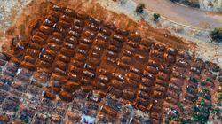 아프리카 공식 집계 코로나19 확진자가 100만명을