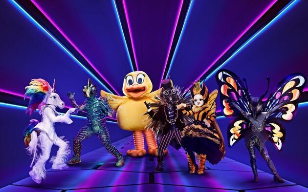The stars of 'The Masked Singer'