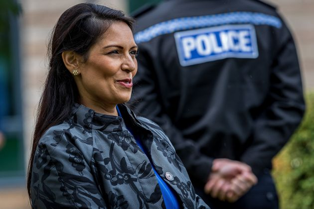 Priti Patel Accused Of Sabre-Rattling Over Reports Navy Could Intercept Channel Migrant Crossings