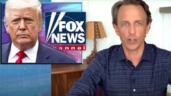 Seth Meyers Likens Trump's Relationship With Fox News Hosts To A 'Loveless