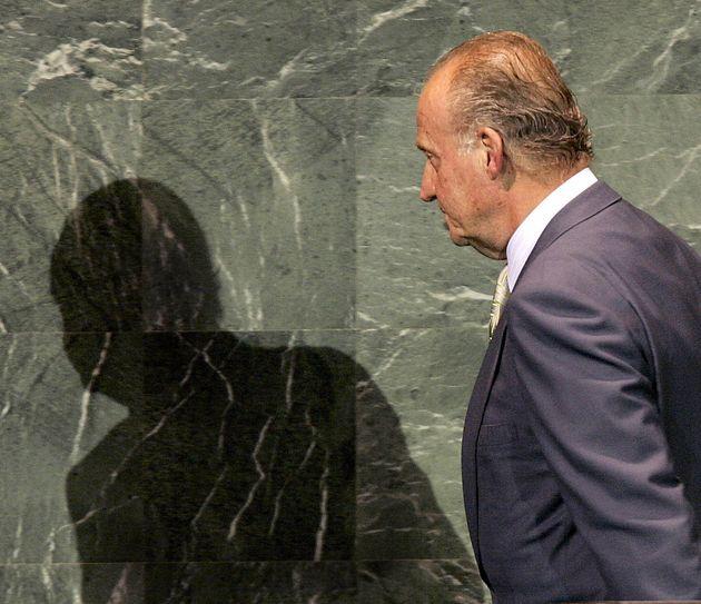 Juan Carlos I en un acto el 14 de septiembre de
