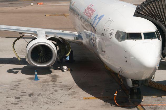 Imagen de archivo de un avión de Air Europa (Oscar Gonzalez/NurPhoto via Getty