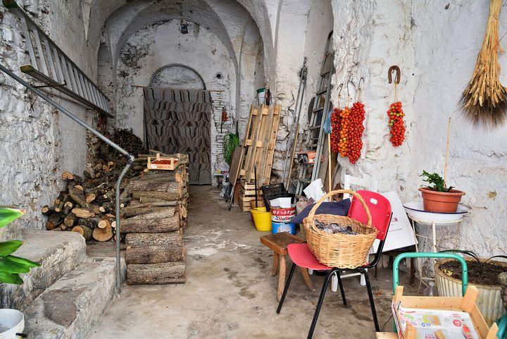 Preparazione delle conserve a Grottole