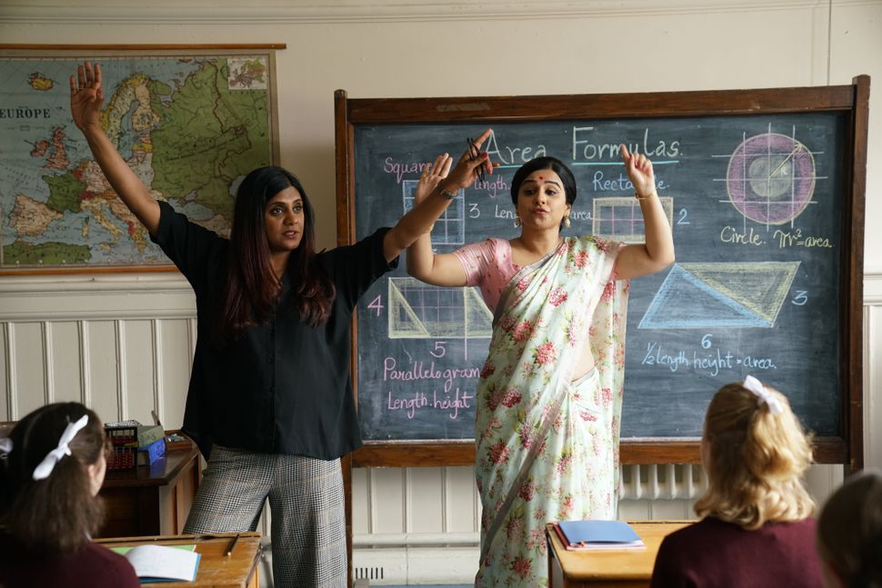 Anu Menon and Vidya Balan on the sets of 'Shakuntala Devi'.