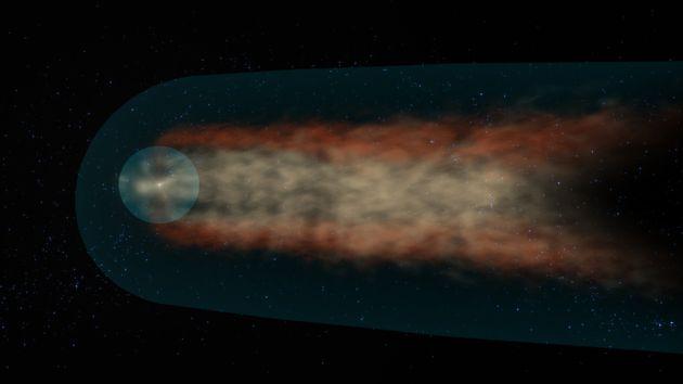 Η άλλη εκδοχή περί του σχήματος του Ηλιακού Συστήματος.
