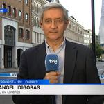Miguel Ángel Idígoras, corresponsal de TVE, causa sensación con su reflexión tras la marcha de Juan Carlos
