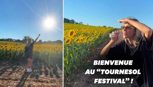 Privée de festivals, Angèle en improvise un... pour des