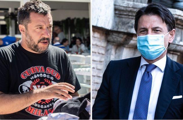 Matteo Salvini e Giuseppe
