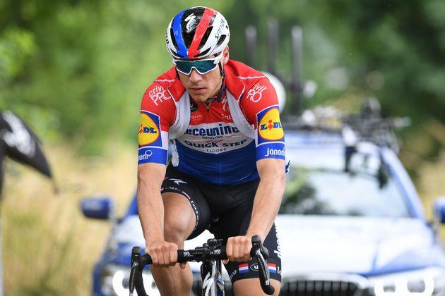 Champion des Pays-Bas en titre, Fabio Jakobsen (Deceuninck-Quick Step) a subi une chute effrayante sur...