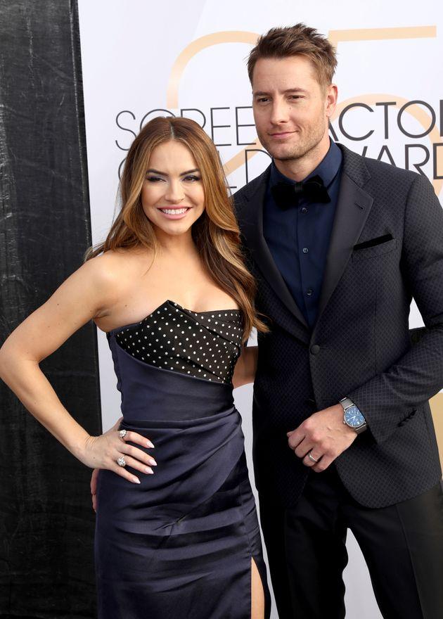 Chrishell with ex-husband Justin