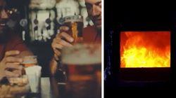 Dalla birra con gli amici al forno crematorio: lo spot choc di Madrid per le mascherine
