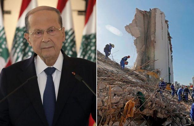 """""""Negligenza, missile o bomba"""". Il presidente libanese parla di """"possibili cause"""", ma rifiuta un"""
