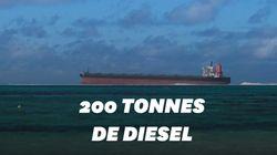 Les lagons de l'île Maurice en proie à une importante marée