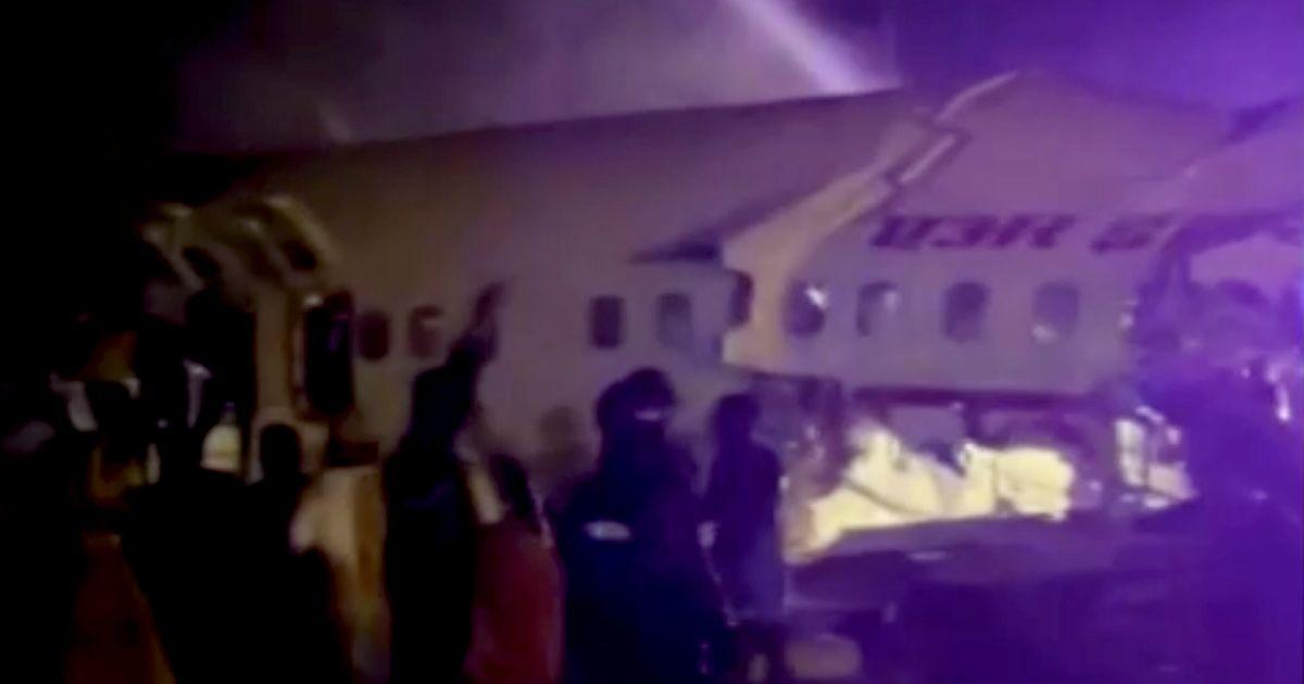 14 Dead As Air India Plane Breaks In Two In Kerala