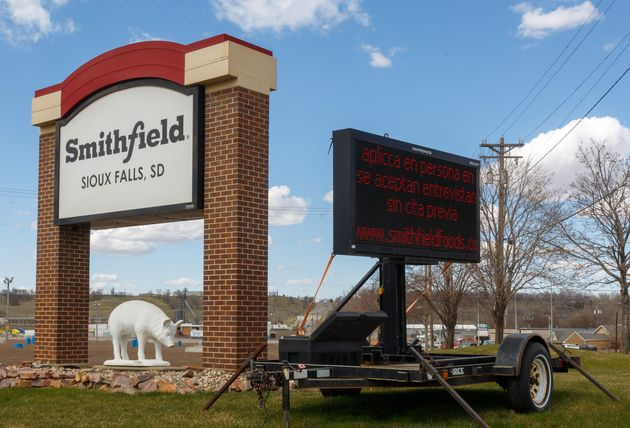 The Smithfield pork processing plant in Sioux Falls, South Dakota, was the site of one of the worst coronavirus...