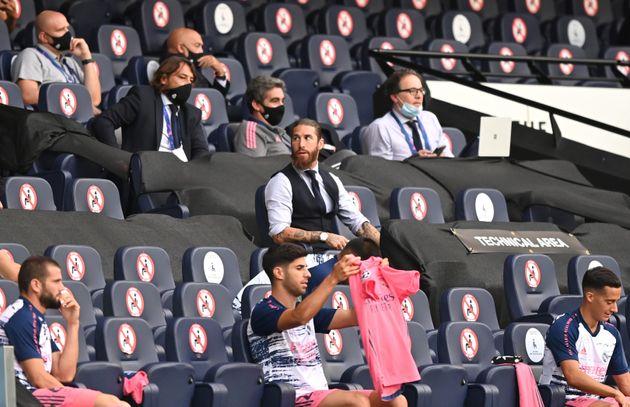Sergio Ramos, en la