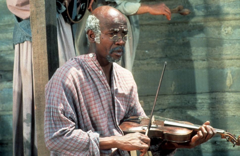 """Louis Gossett Jr. in """"Roots,"""" the ABC miniseries that earned him an Emmy."""