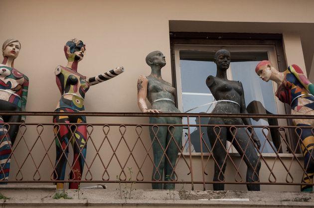 Μπαλκόνι στην Αθήνα (Photo by...