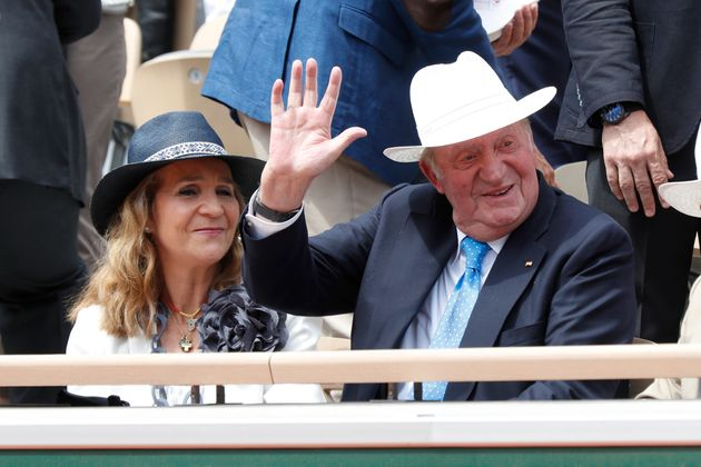 Juan Carlos I en una corrida de
