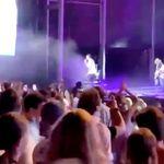Ni mascarillas ni distancia de seguridad: el concierto de Taburete que indigna en las