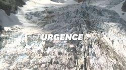 Les glaciers des Alpes fragilisés, l'un d'entre eux menace de