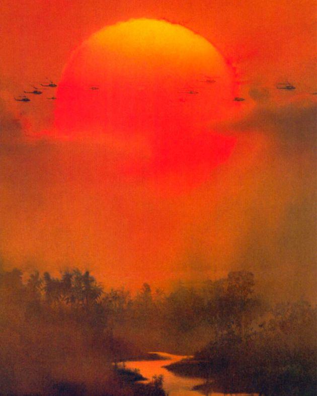 Cartel de 'Apocalypse Now', de Francis Ford Coppola, basada en la novela 'El corazón...
