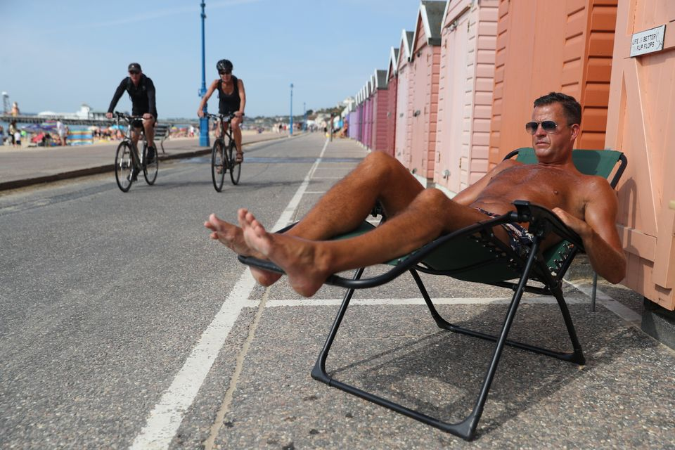 In Pictures: Europe Swelters Through Heatwave Amid Pandemic