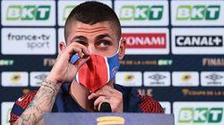 Verratti annoncé forfait contre l'Atalanta, le PSG une nouvelle fois confronté aux