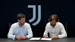 Andrea Pirlo nuovo allenatore della Juventus al posto di Maurizio