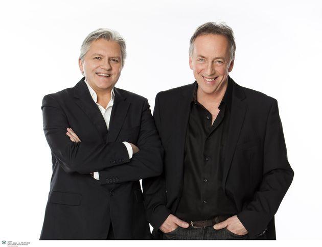 Les animateurs, Richard Martineau et Benoît